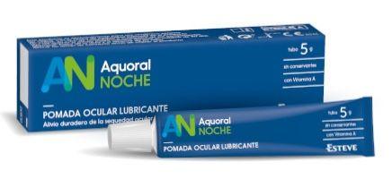 AQUORAL Noche Pomada Ocular Lubricante 5gr