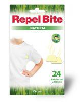REPEL BITE Natural Parches Ropa Con Citronella 24uds