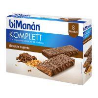 Bimanan Komplett Barritas sabor Chocolate Crujiente 35gr 8u