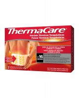 THERMACARE Parches Térmicos Lumbar y Cadera (2 Parches)