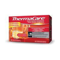 THERMACARE Parches Térmicos Lumbar y Cadera (4 Parches)