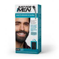JUST FOR MEN Colorante en Gel Bigote Y Barba NEGRO (M-55)