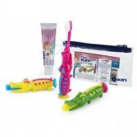 KIN Cepillo Dental Infantil Inicio Cocodrilo + Pasta 25ml
