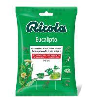 RICOLA Caramelos Sin Azúcar Eucalipto 70g