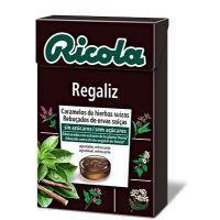 RICOLA Caramelos Sin Azúcar Regaliz 50g