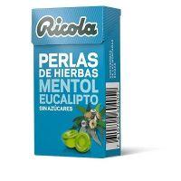 RICOLA Pelas Sin Azúcar Mentol-Eucalipto 25g