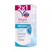 VAGISIL Higiene Íntima Diaria Odor Block 2x250ml