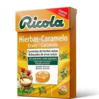 RICOLA Caramelos Sin Azúcar Hierbas-Caramelo 50g