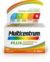 MULTICENTRUM Plus Ginseng Ginkgo 30 comprimidos