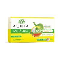 AQUILEA Antiácido 24 Comprimidos Sabor Menta
