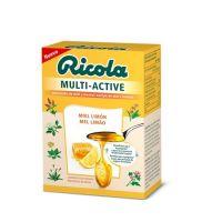 RICOLA Caramelos Sin Azúcar Multiactive Miel-Limón 51gr