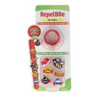 REPEL BITE Niños Pulsera con Citronela Custom + Pins decorativos