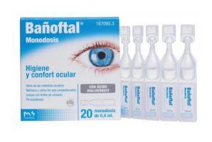 Bañoftal Gotas Oftálmicas  Monodosis 20 x 0,4 ml