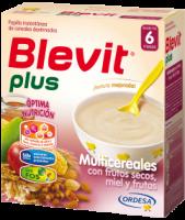 Blevit Plus Multicereales,Frutos Secos,Miel Y Fruta 600 Grs