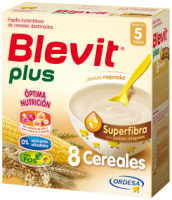 Blevit Plus Super Fibra 8 Cereales 600 Grs