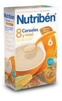 Nutriben 8 Cereales Con Miel Y Galletas María 600 Grs