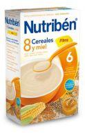 Nutriben 8 Cereales Con Miel Y Fibra 600 Grs
