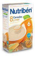 Nutriben 8 Cereales Con Miel Y 4 Frutas 600 Grs