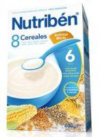 Nutriben 8 Cereales Con Galletas María 600 Grs