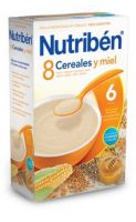 Nutriben 8 Cereales Con Miel 600 Grs