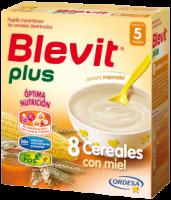 Blevit Plus 8 Cereales Con Miel 600 Grs