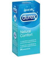 Durex Profilácticos Natural Plus Easy On