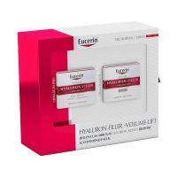 EUCERIN Pack Piel normal y mixta Hyaluron-Filler + Volume-Lift Crema de día SPF15 50ml+ Crema de noche 50ml
