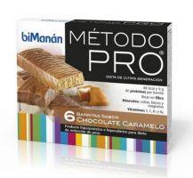Bimanan Pro Barritas De Chocolate Y Caramelo