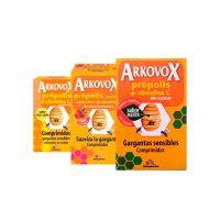 Arkovox Propolis + Vitamina C Comp Masticables - (24 Comp Sabor Frambuesa)