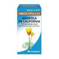 Arkocapsulas Amapola De California 240 Mg 50 Capsulas