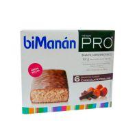 Bimanán Pro Barritas Chocolate Praliné - (6Uds)
