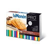 Bimanan Pro Galletas Cereales Con Pepitas Choco - (16Uds)