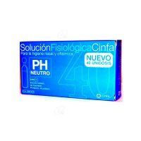 Cinfa Solucion Fisiologica - (Monodosis 5 Ml 40 U)