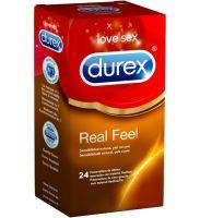 Durex Real Feel - Preservativo Sin Latex (24 U)