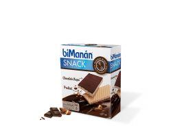 Bimanán Snack Chocolate Negro Praline - (6Uds)