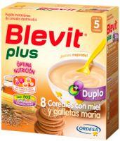 Blevit Plus Duplo 8 Cereales Con Miel Y Galletas - (600 G)