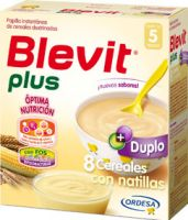 Blevit Plus Duplo 8 Cereales Con Natillas - (600 G)