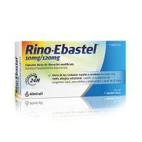 Rino Ebastel 10/120 Mg 7 Capsulas