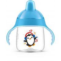 AVENT Philips Vaso Boquilla Azul 260Ml Pingüino