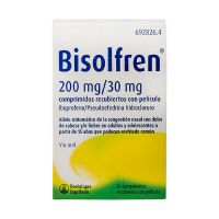 Bisolfren 200/30 Mg 20 Comprimidos Recubiertos