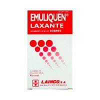 Emuliquen Laxante 10 Sobres Emulsion Oral 15 Ml