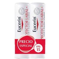 EUCERIN PH5 Piel Sensible Protector Labial Pack Duplo 2x4.8grs