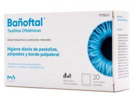 Bañoftal Toallitas Oculares Estériles 20Uds