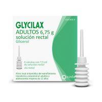 Glycilax Adultos 6.75 G Solucion Rectal 6 Enemas 7.5 Ml