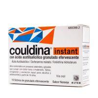 Couldina Instant Con Ácido Acetilsalicilico Granulado Efervescente, 10 Sobres