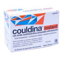 Couldina Instant Con Ácido Acetilsalicilico Granulado Efervescente, 20 Sobres