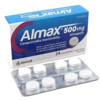 Almax 500Mg, 24 Comprimidos Masticables