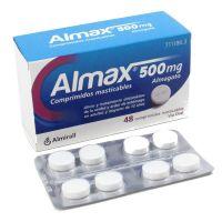Almax 500Mg, 48 Comprimidos Masticables