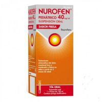 Nurofen Pediatrico 40 Mg/Ml Suspension Oral Sabor Fresa - (150Ml)