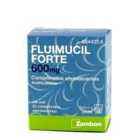 Fluimucil Forte 600 Mg Comprimidos Efervescentes, 20 Comprimidos